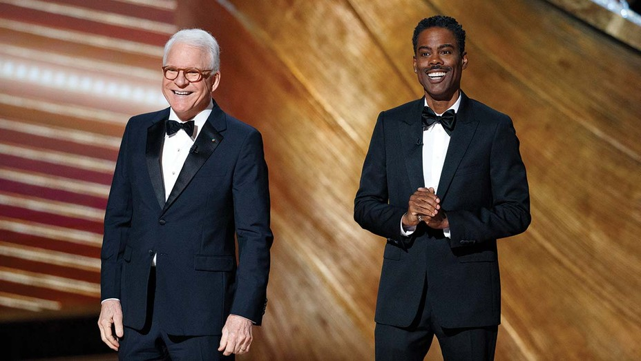 STEVE MARTIN and CHRIS ROCK at the The 92nd Oscars.