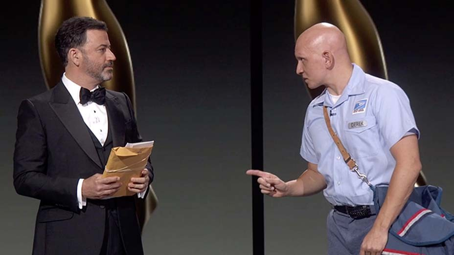 JIMMY KIMMEL, ANTHONY CARRIGAN- Emmys 2020
