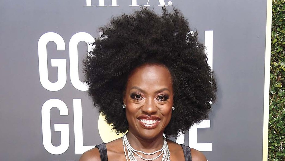 Viola Davis - 75th Annual Golden Globe Awards