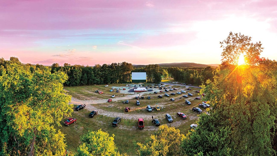 Outdoor Drive-In Movie Theater