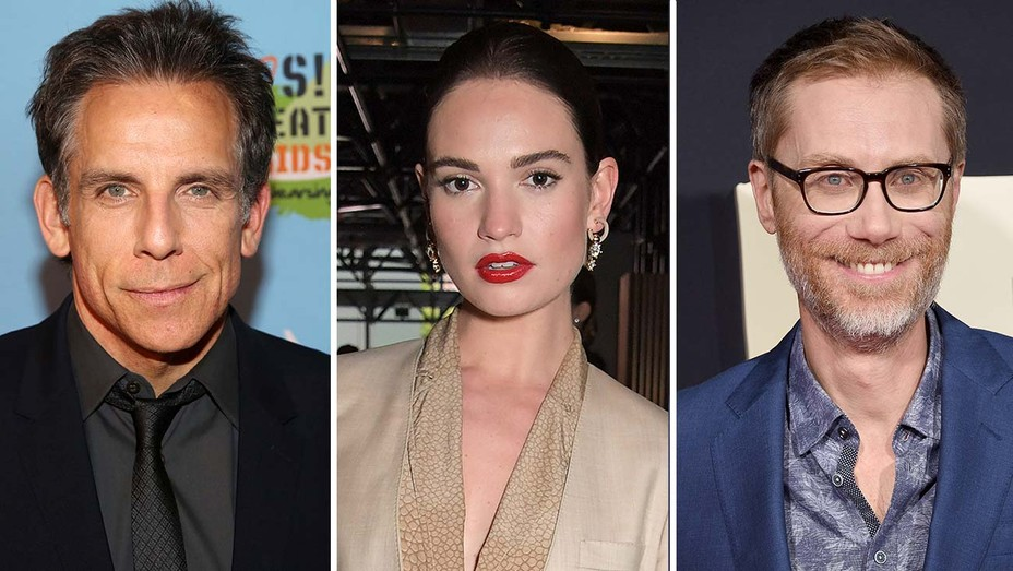 Ben-Stiller-Lily-James-Stephen-Merchant