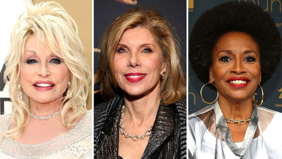 Dolly Parton, Christine Baranski and Jenifer Lewis