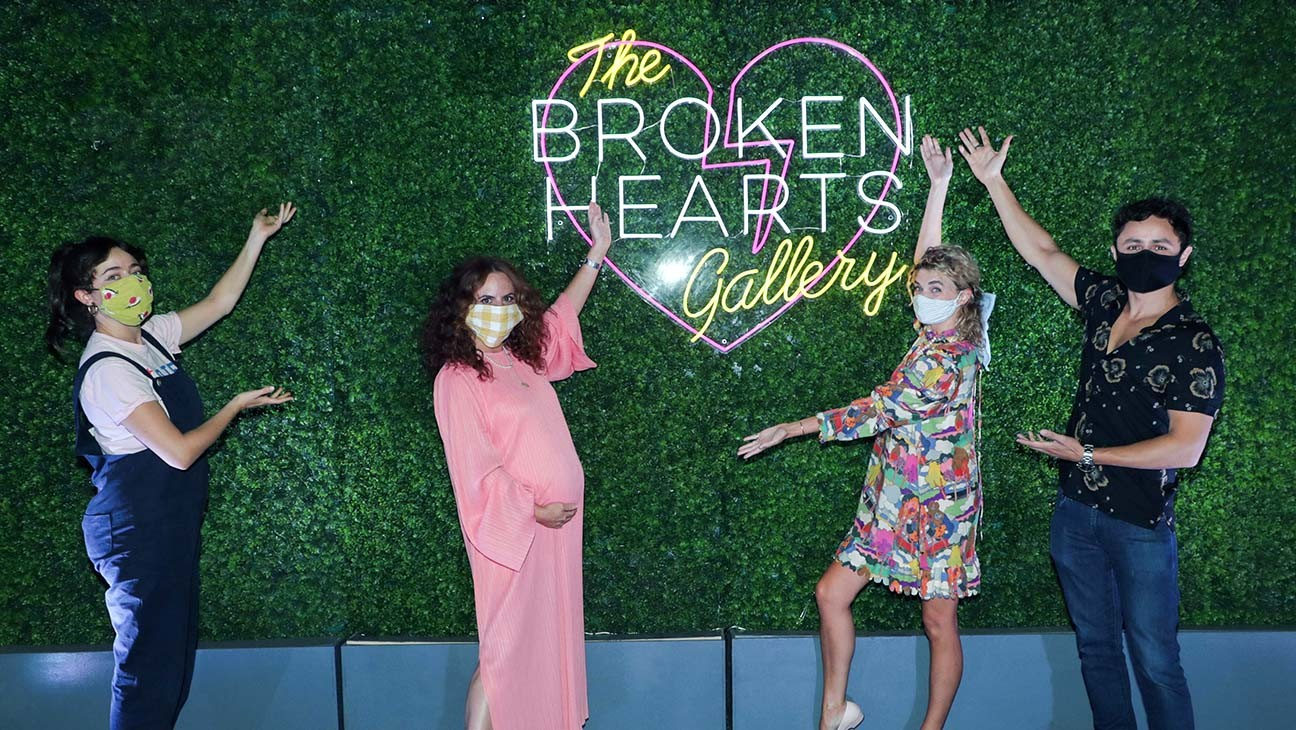 'Broken Hearts Gallery' Premieres at Sony Drive-In