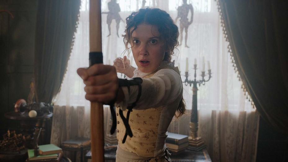ENOLA HOLMES Still 2- MILLIE BOBBY BROWN- Netflix Publicity-H 2020