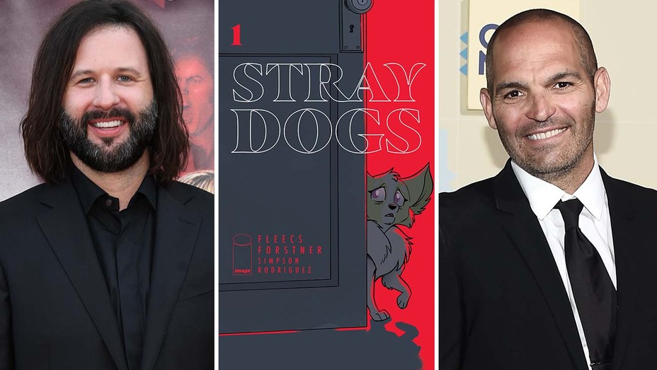 Gary Dauberman, cover of Stray Dogs comic, Mark Perez