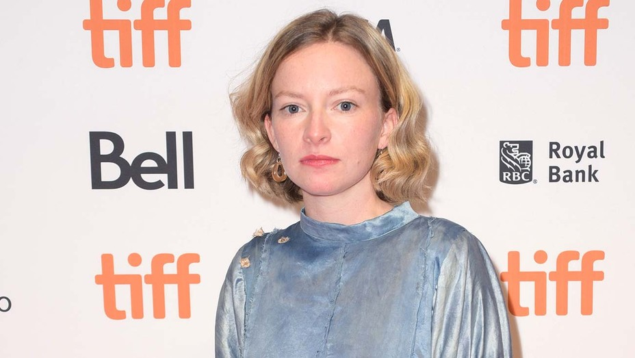 Deragh Campbell at the 2019 TIFF Anne At 13,000 Ft Premiere