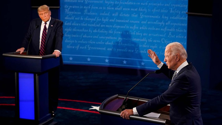 Donald Trump And Joe Biden - First Presidential debate