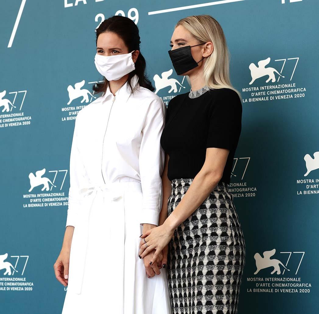 Katherine Waterston und Vanessa Kirby