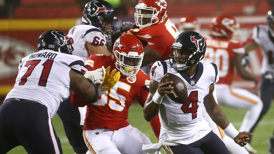 Houston Texans vs. Kansas City Chiefs-SEPTEMBER 10, 2020