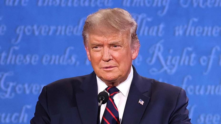 Donald Trump - First Presidential Debate - Getty - H 2020