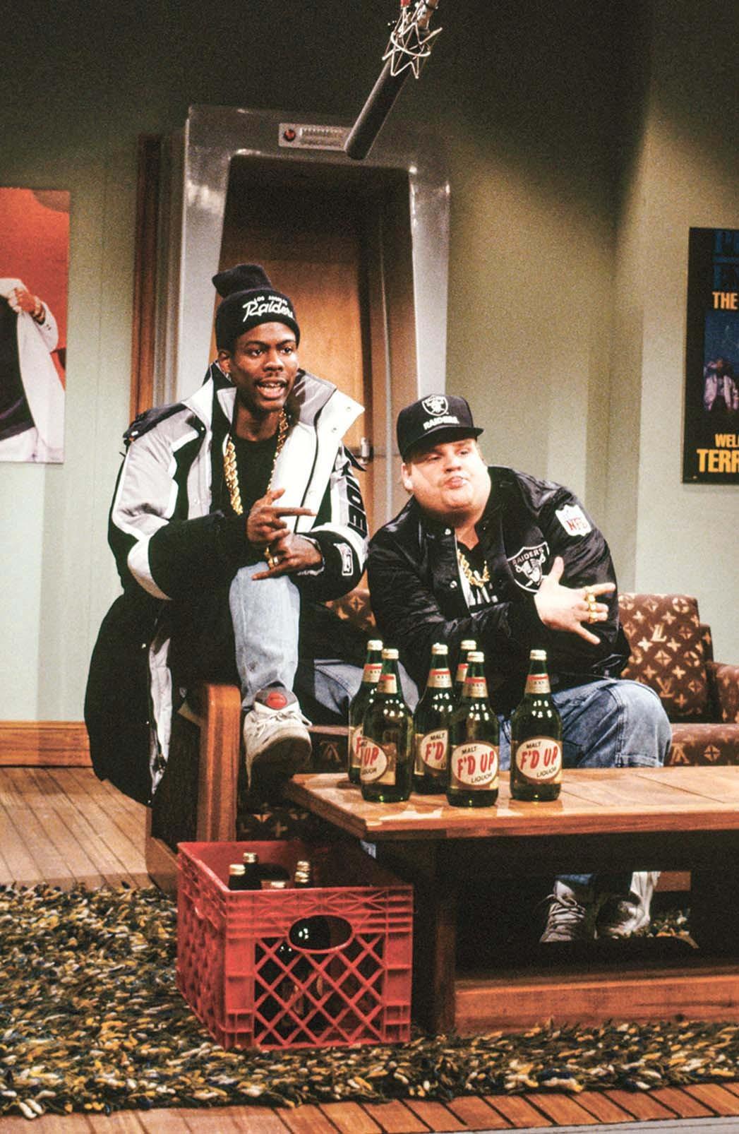 Saturday Night Live -Chris Rock and Chris Farley
