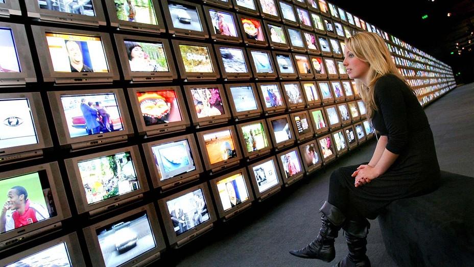 Wall of TV screens
