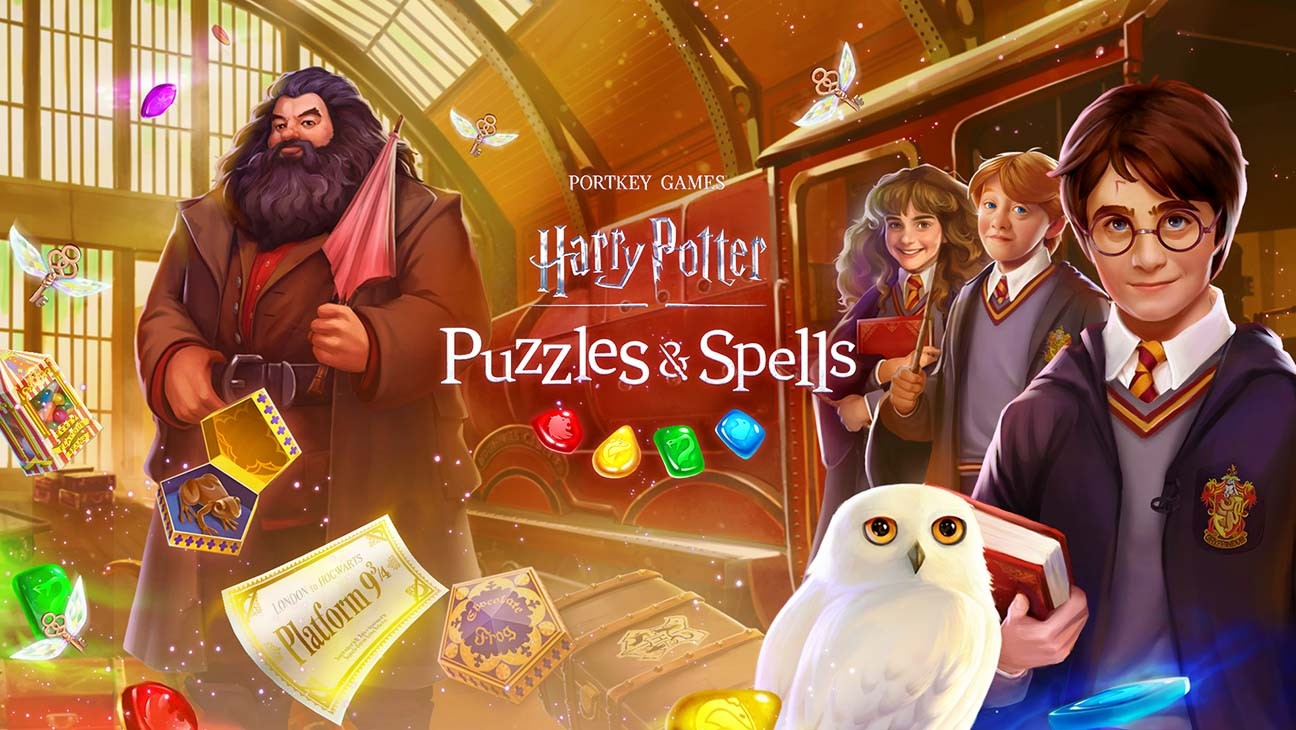 Zynga Launches 'Harry Potter: Puzzles & Spells' Game