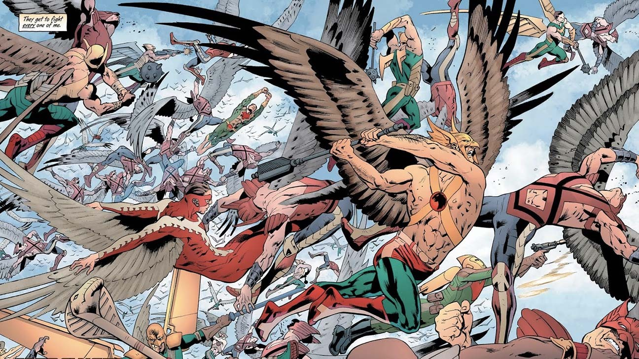 The Many Lives of 'Black Adam' Hero Hawkman