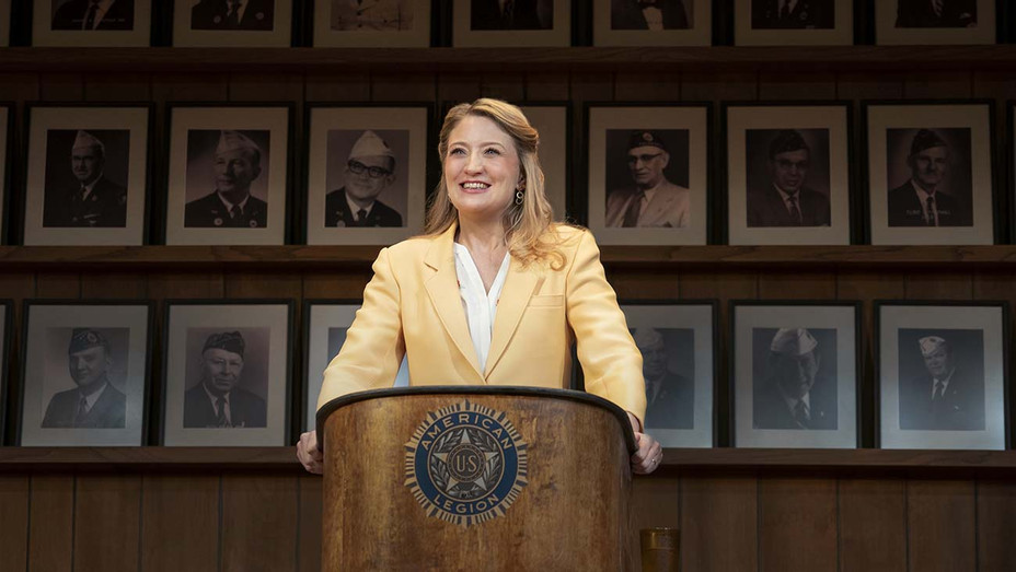 Heidi Schreck in WHAT THE CONSTITUTION MEANS TO ME at Broadway's Helen Hayes Theater