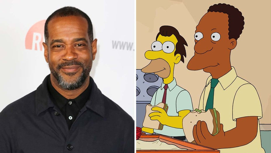 Alex Désert and the character of Carl from The Simpsons