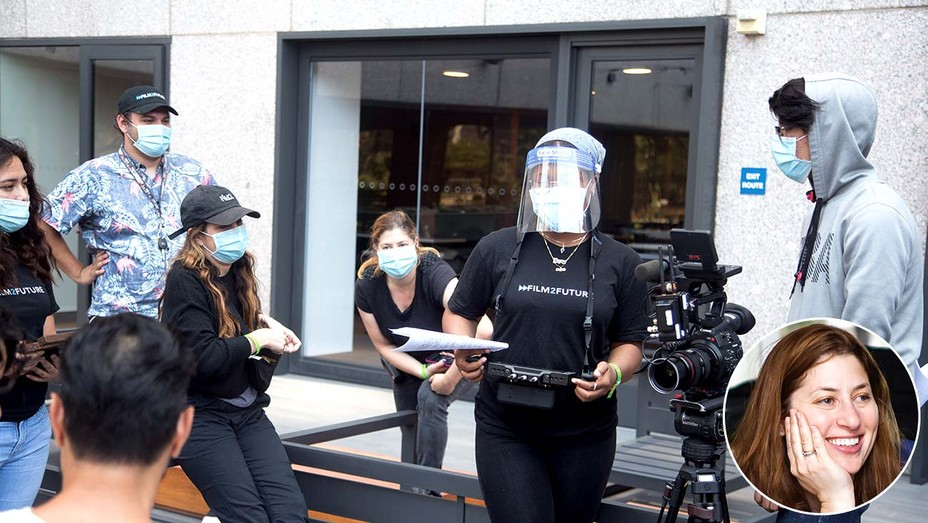 Film2Future students shoot their short films in Los Angeles