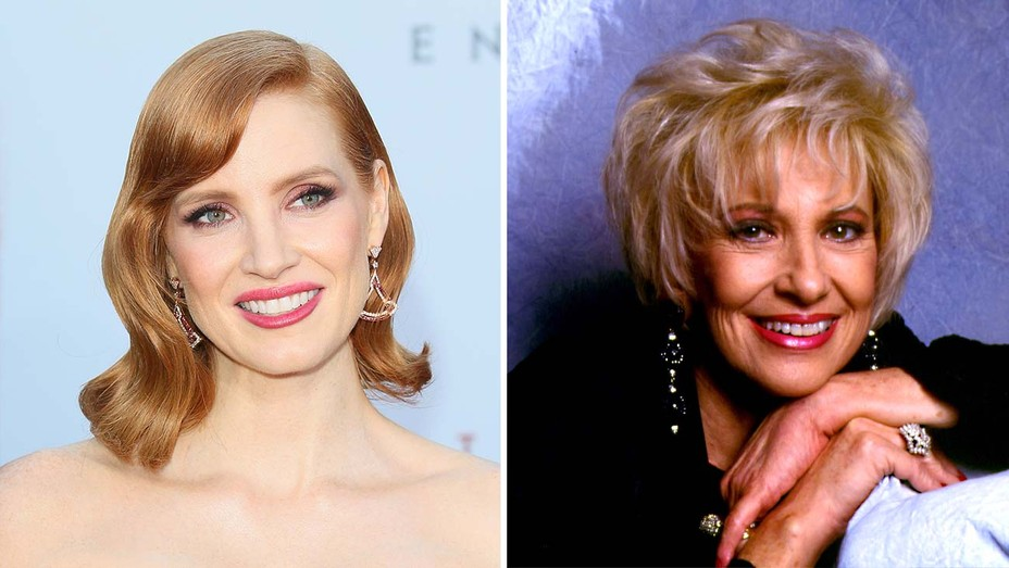 Jessica Chastain and country star Tammy Wynette