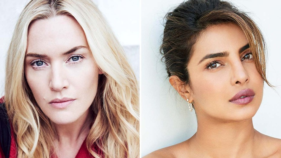 Kate Winslet and Priyanka Chopra Jonas