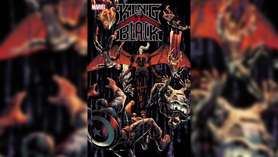 King in Black Marvel Entertainment Cover