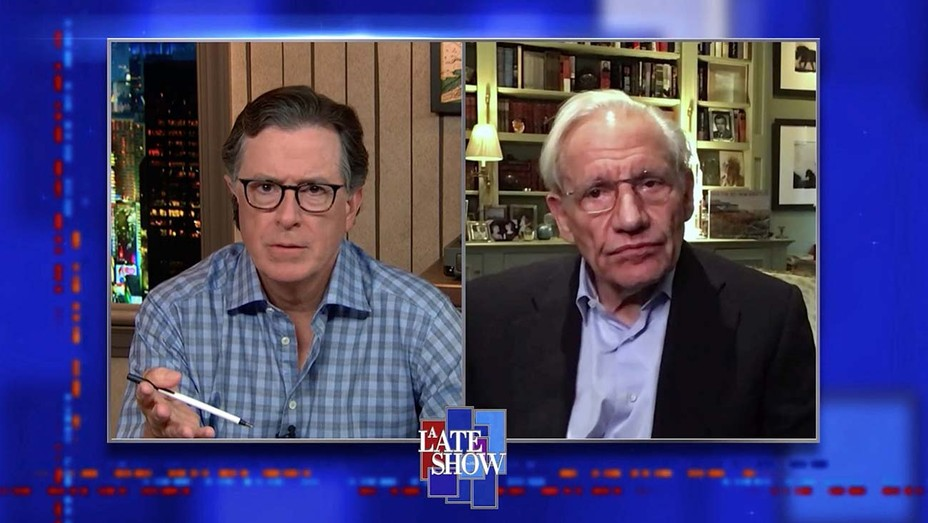 The Late Show with Stephen Colbert and Bob Woodward