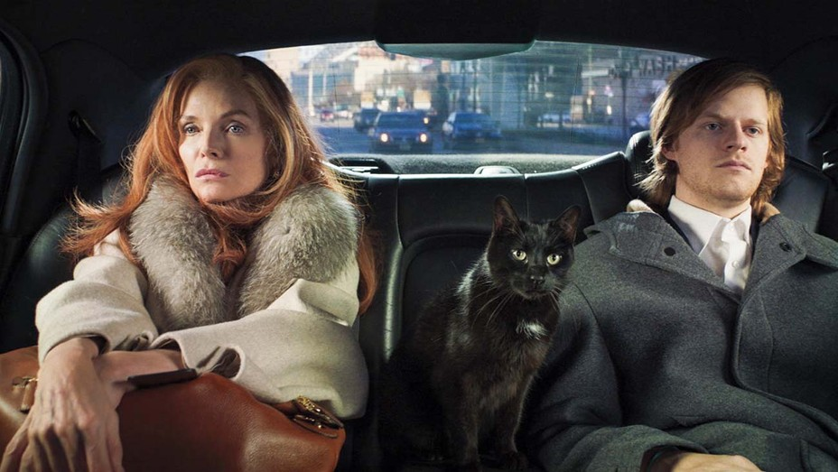 Michelle Pfeiffer and Lucas Hedges in 'French Exit.'