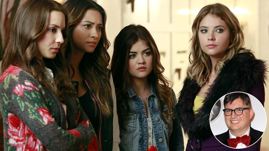 Pretty Little Liars -still-and-inset-of-Roberto-Aguirre-Sacasa