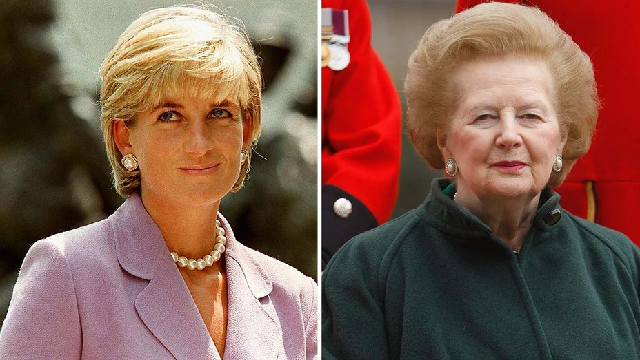 Princess Diana and Margaret Thatcher