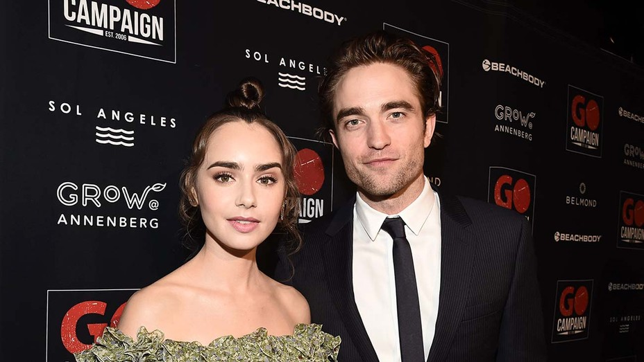 GO Campaign 2018 Gala, Los Angeles, USA -Robert Pattinson and Lily Collins