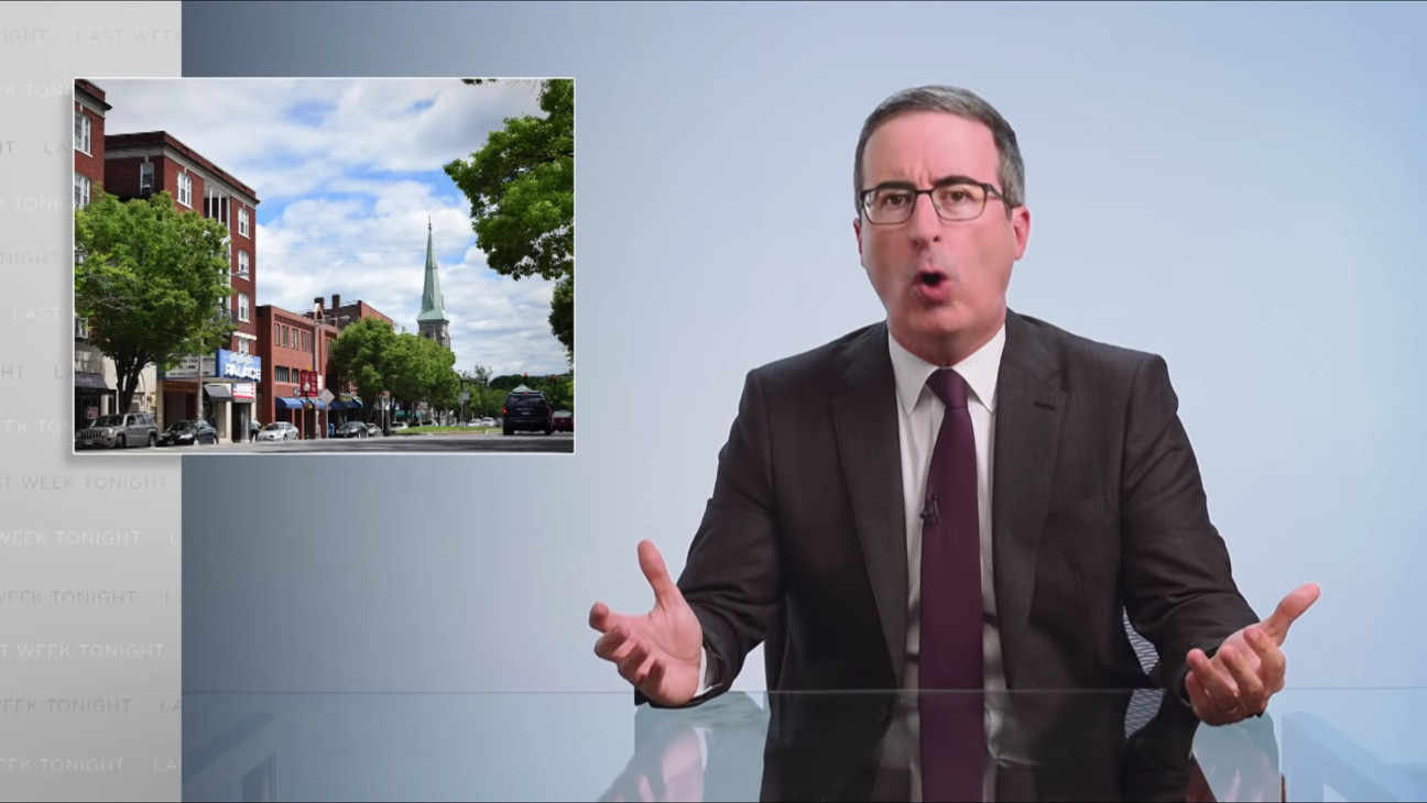 John Oliver's Sewage Plant Renaming Donation Hinges on Single Condition From Mayor