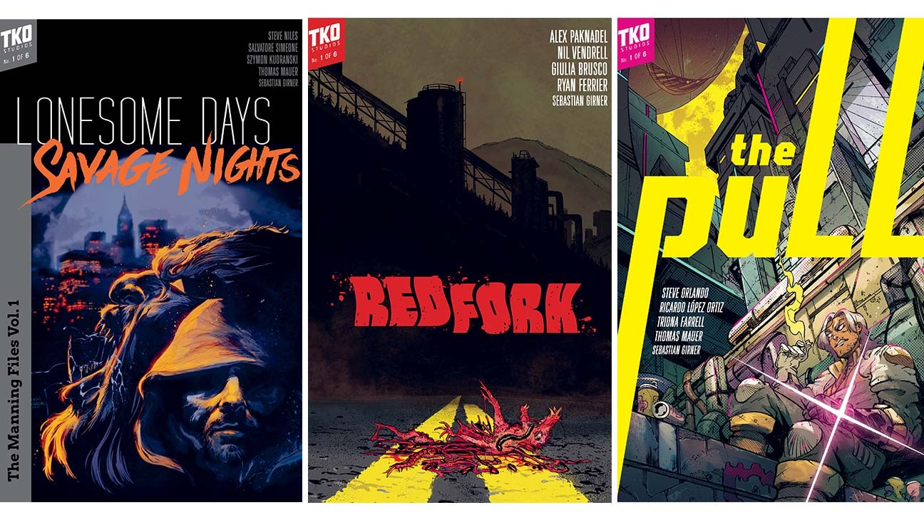 TKO Studios Sets New Wave of Comic Releases