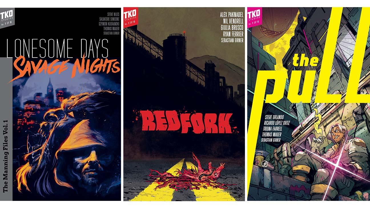 TKO Studios Sets New Wave of Comic Releases