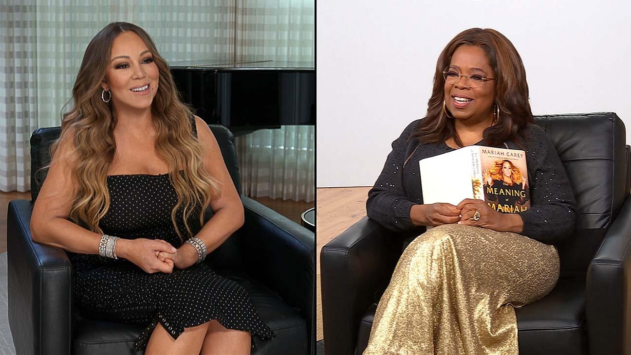 Oprah Winfrey Sits Down With Mariah Carey for Apple TV+ 'Conversation' Series