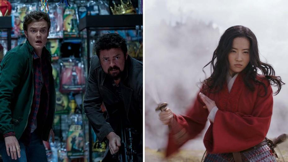 The Boys season 2 (Amazon) and Mulan (Disney+)