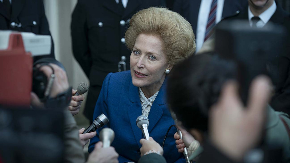 The Crown -GILLIAN ANDERSON