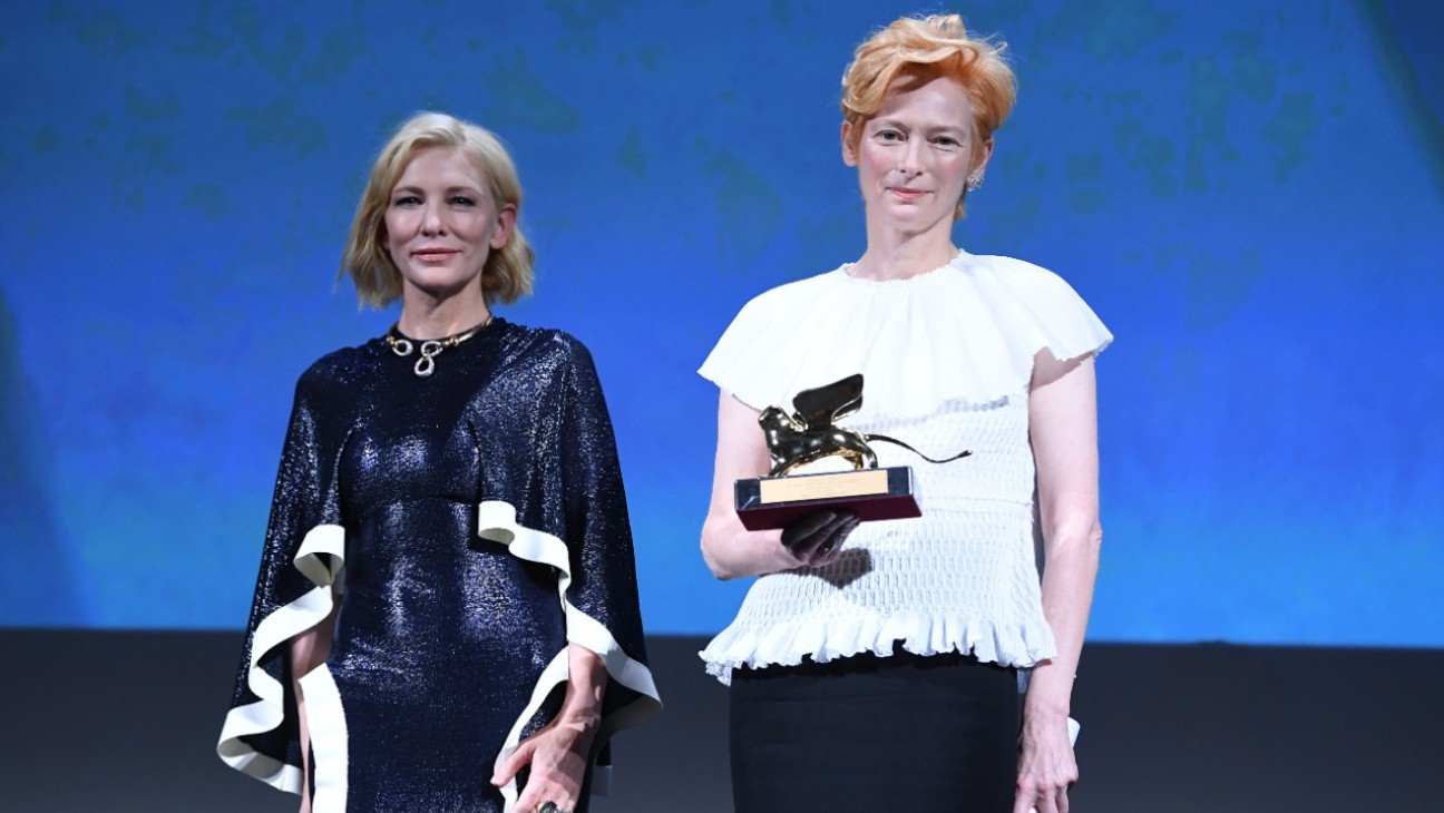 Venice: Tilda Swinton Accepts Golden Lion with: 'Wakanda Forever'