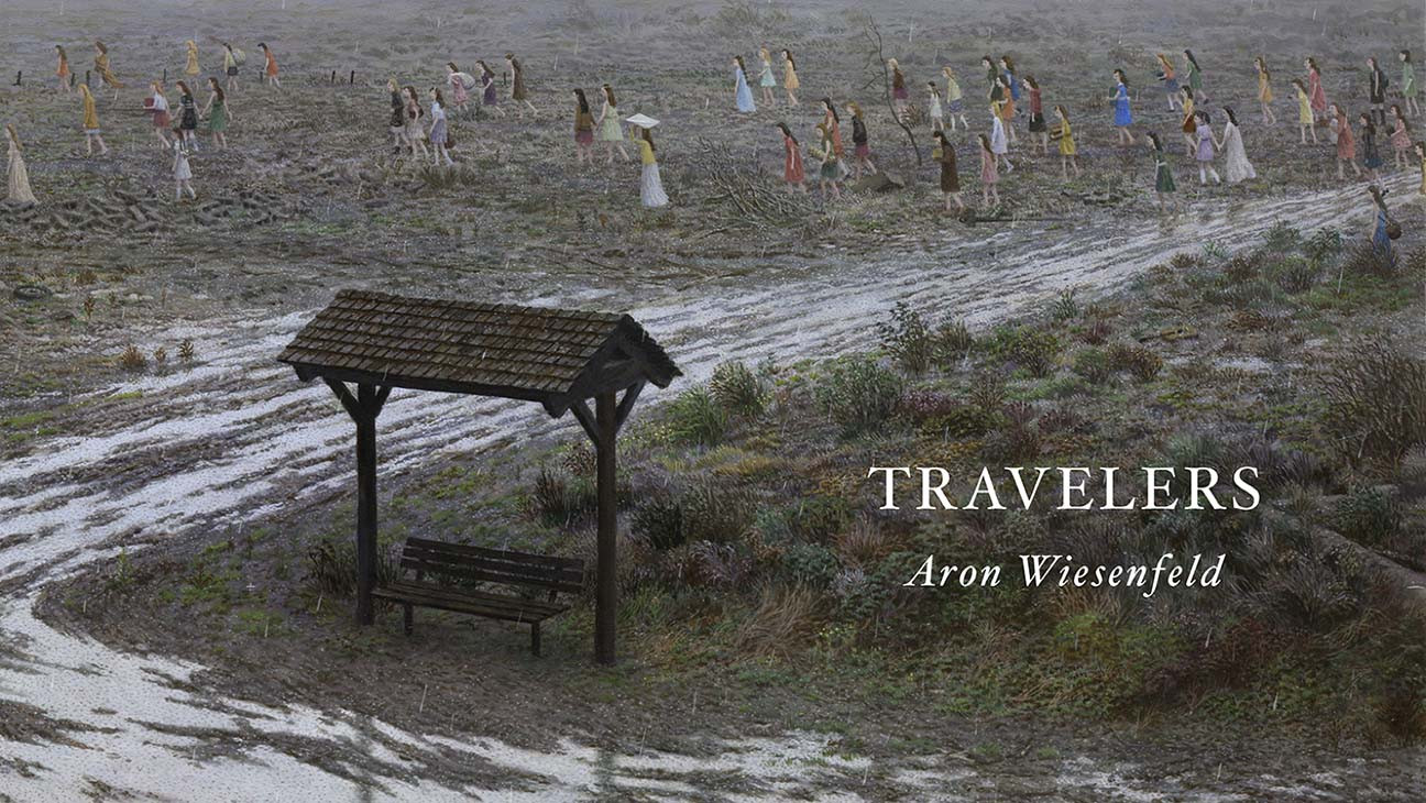 Artist Aron Wiesenfeld's 'Travelers' Launches on Kickstarter