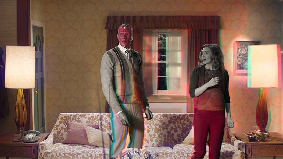 Marvel's 'WandaVision' Trailer Shows Off '50s Sitcom Vibe
