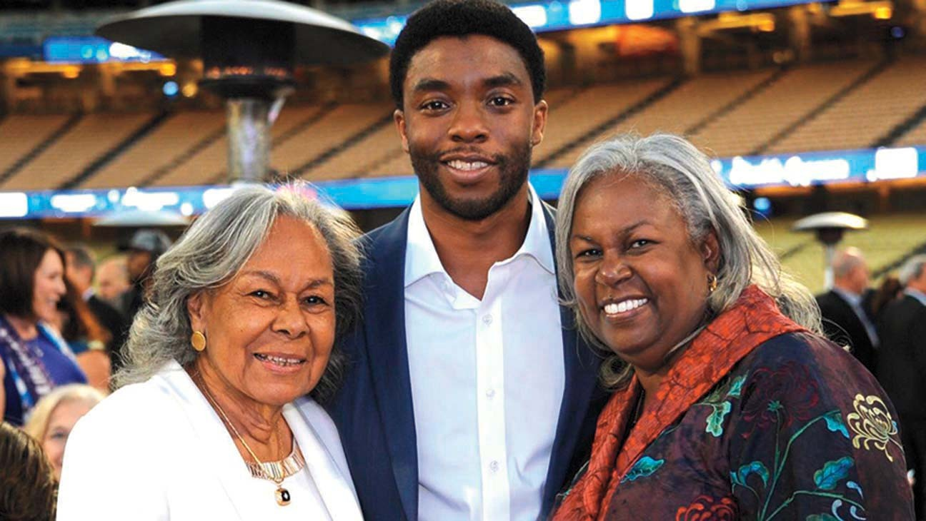 """Jackie Robinson's Daughter on Chadwick Boseman: """"I See Parallels Between"""" the Actor and My Dad"""