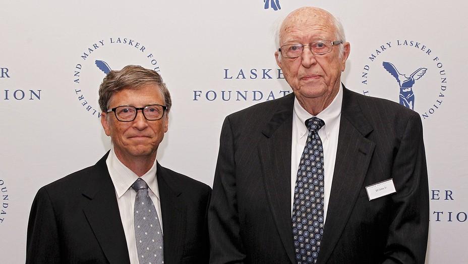 Bill Gates Jr. and Bill Gates Sr. in 2013 - H Getty 2020