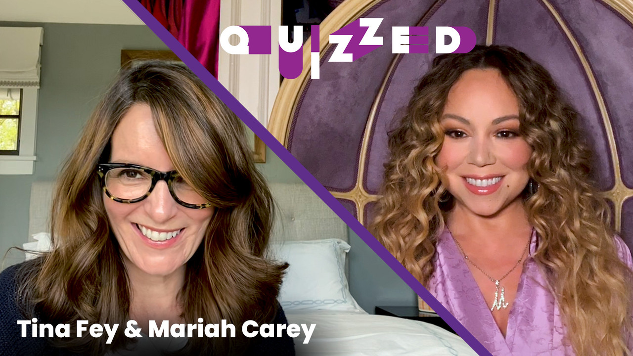 Tina Fey Quizzes Superfan Mariah Carey on 'Mean Girls' | Quizzed