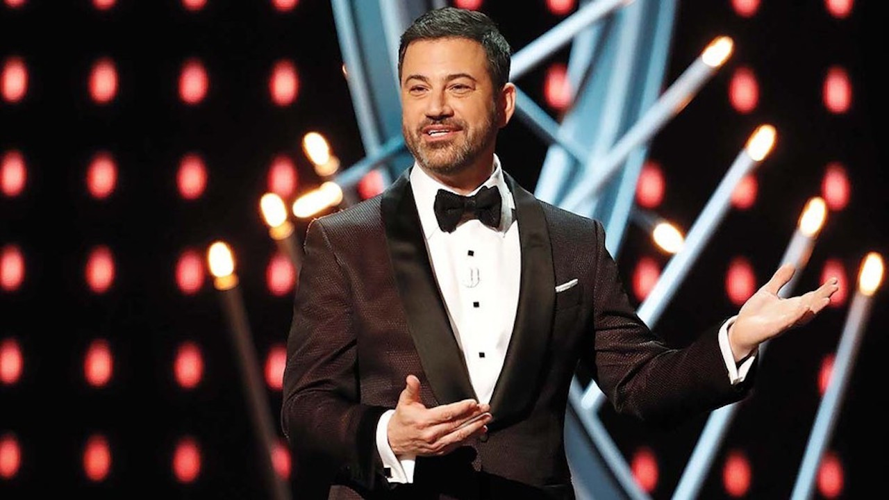 "Host Jimmy Kimmel Braces for ""Beautiful Disaster"" at Virtual Emmys"