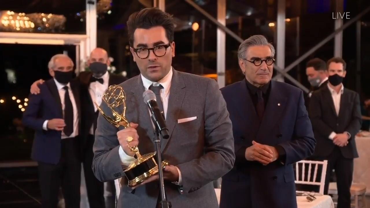'Schitt's Creek' Wins Best Comedy Series | 2020 Emmys