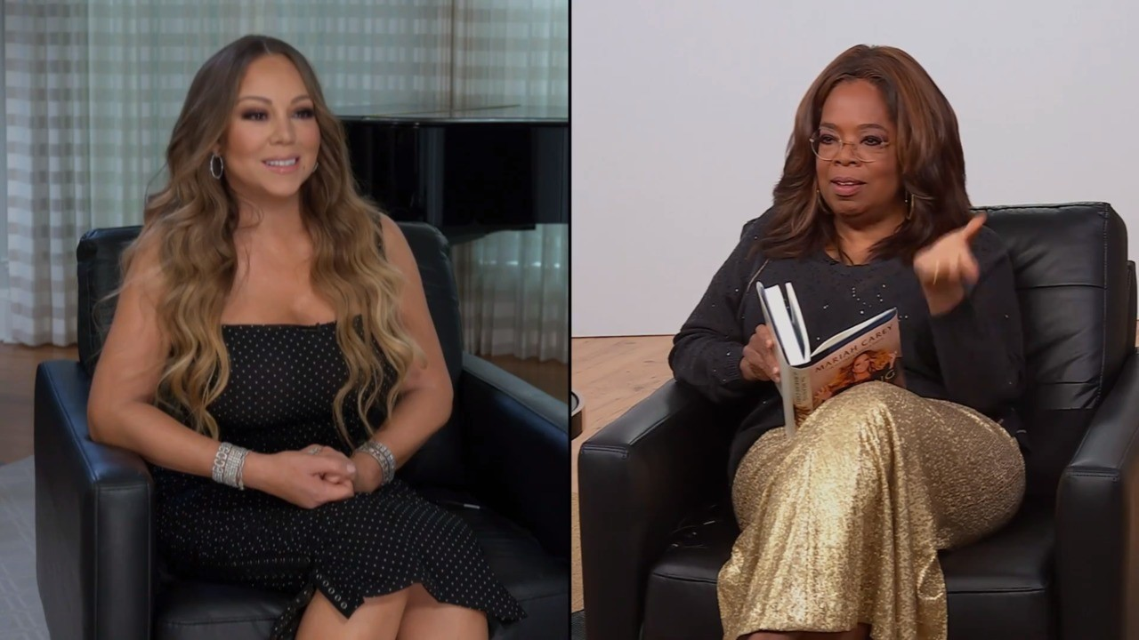 Apple TV+ Presents 'The Oprah Conversation' With Mariah Carey - Exclusive Clip