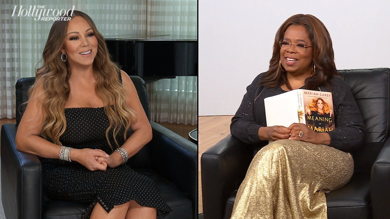 Mariah Carey Sits Down With Oprah Winfrey for Apple TV+ 'Conversation' Series | THR News