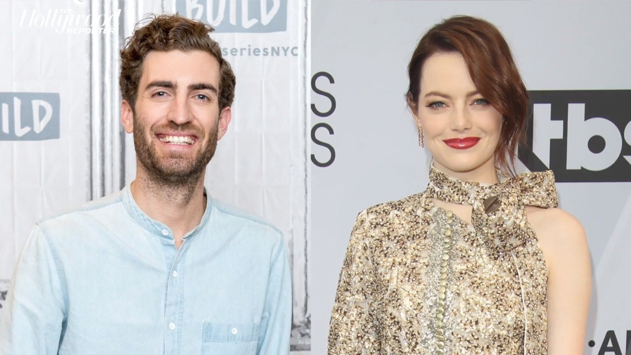 Emma Stone & 'SNL' Writer Dave McCary Tie the Knot | THR News