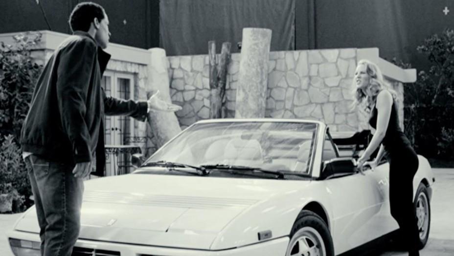 Boris Kodjoe and Charlotte Kirk star in the uncompleted film 'Nicole and O.J.'