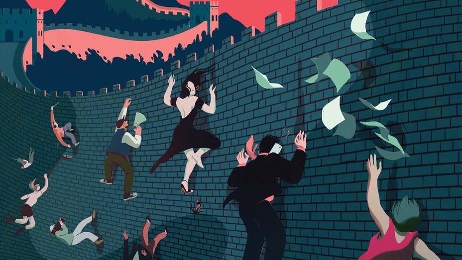 Illustration by Cornelia Li - The World's Second-Largest Film Market Moves Beyond Hollywood
