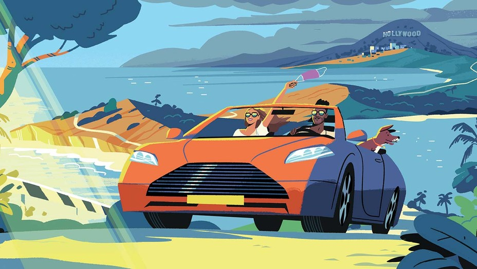 I Will Just Drive and Drive - Illustration by Steve Scott