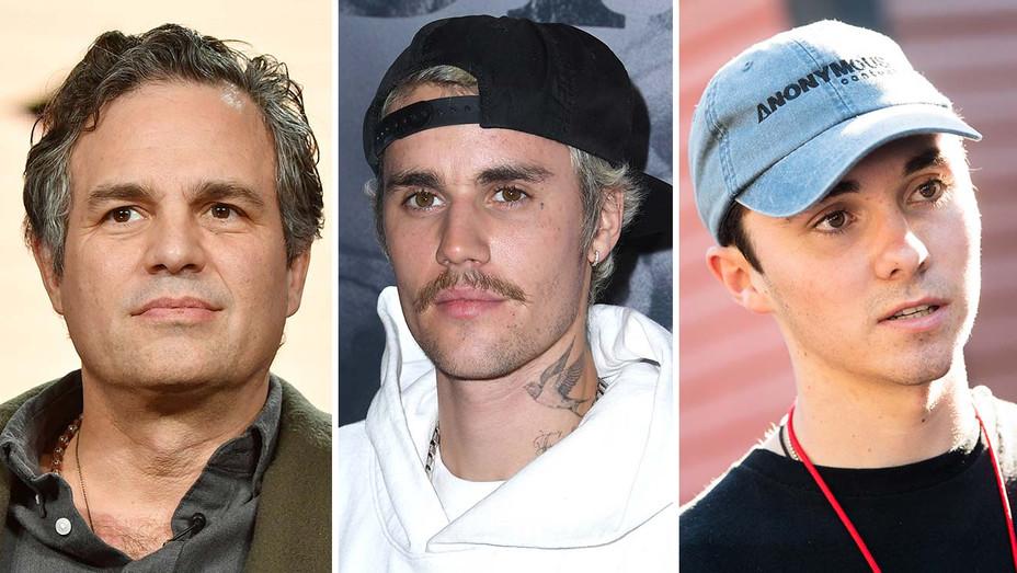 Mark Ruffalo Justin Bieber David Hogg